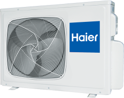 Сплит-система Haier Lightera HSU-09HUN203/R2 внешний блок (ON/OFF)