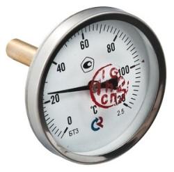 "Термометр БТ-31 Dy63 с задн. подкл., 1/2"" 0-120*"