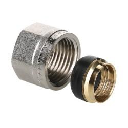 Соединитель коллекторный обжимной VALTEC  для медной трубы ф15