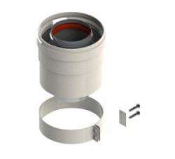 Адаптер D 60/100 с отводом конденсата для газовых котлов Ariston. Артикул 3318008