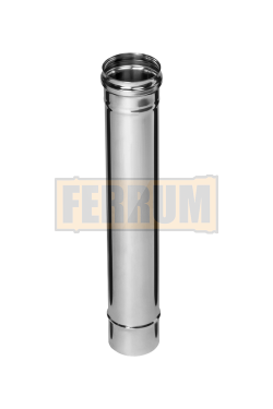 Дымоход Ferrum из нержавеющей стали 0,5 м