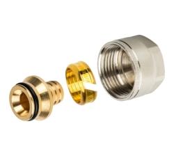 Фитинг STOUT компрессионный  для труб PEX 20х2,0х3/4