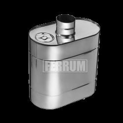 Бак эллиптический Ferrum с трубой 50 л.