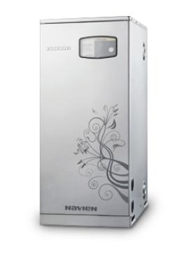 Газовый напольный котел Navien серии GST с закрытой камерой сгорания